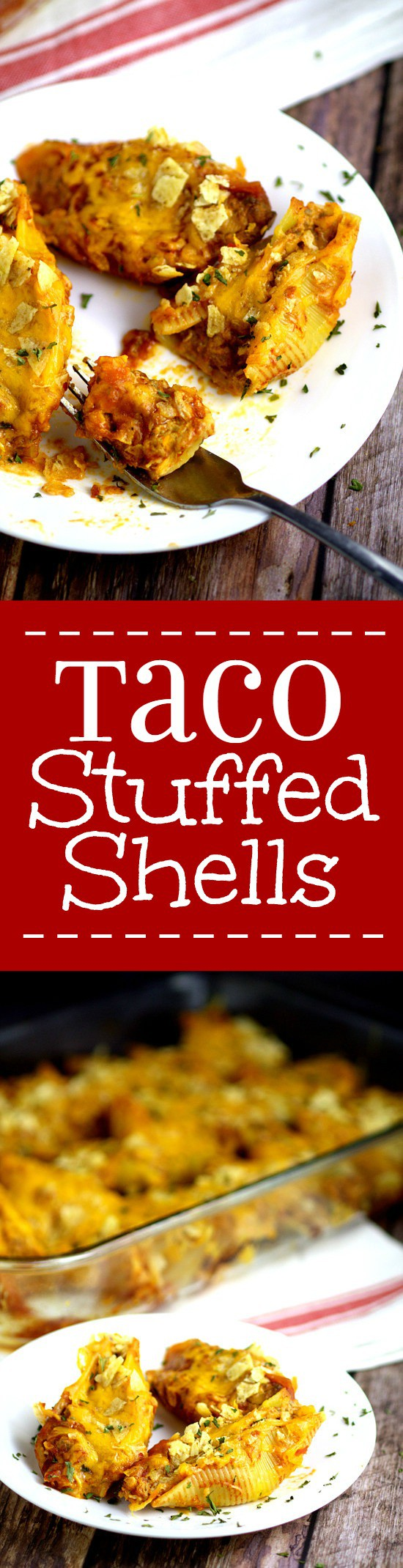 Taco Stuffed Shells Recipe is perfect for a family dinner night! A ...