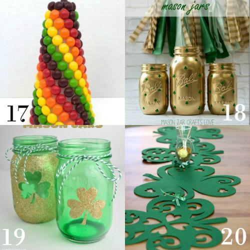 diy st patricks day decorations and home decor make beautiful easy and frugal - St Patricks Day Decorations