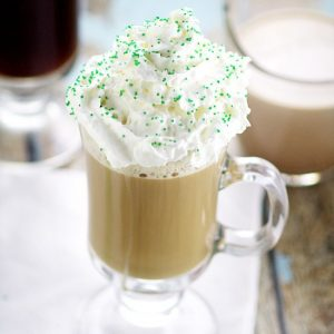 Homemade Irish Cream Coffee Creamer