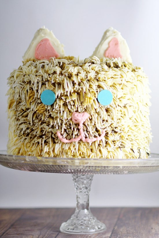 Kitty Cat Birthday Cake The Gracious Wife