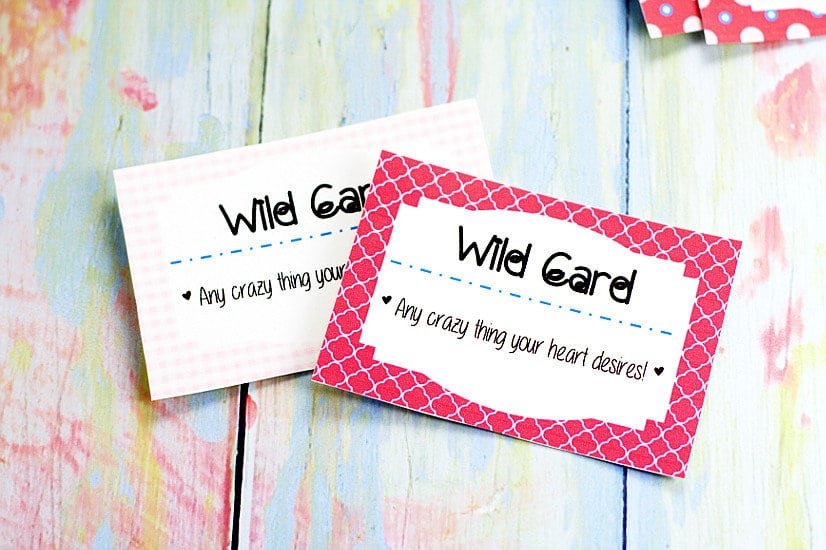 FREE DIY Printable Love Coupon Book for Him makes a perfect, loving gift  for your