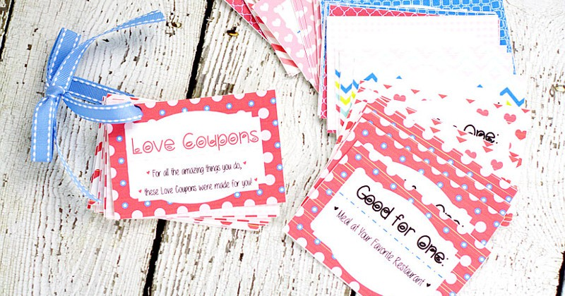picture about Printable Luv Coupons named Printable Take pleasure in Coupon E book The Gracious Spouse