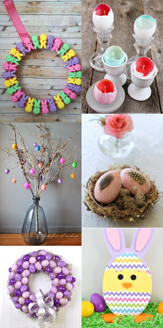 Diy easter decorations the gracious wife