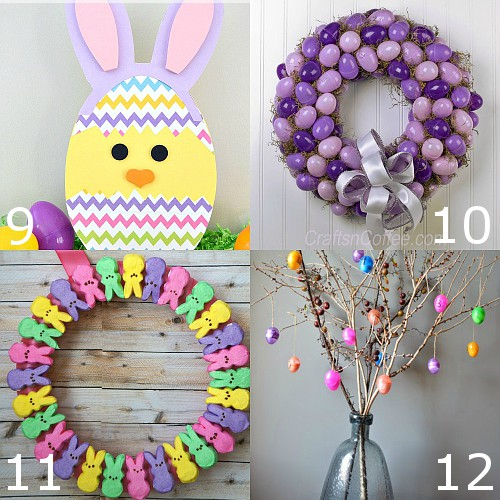 32 diy easter decorations the gracious wife for Diy easter decorations for the home
