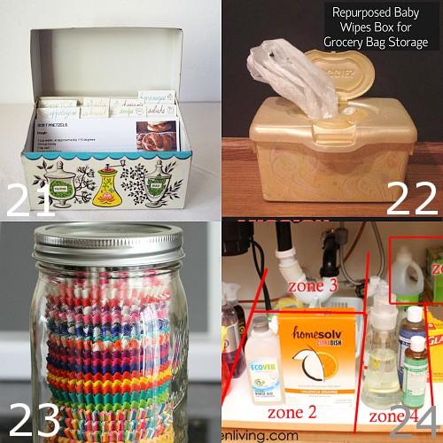 Kitchen Organization Gifts: 24 DIY Kitchen Organization Ideas