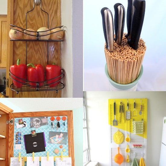 DIY Kitchen Organization Ideas