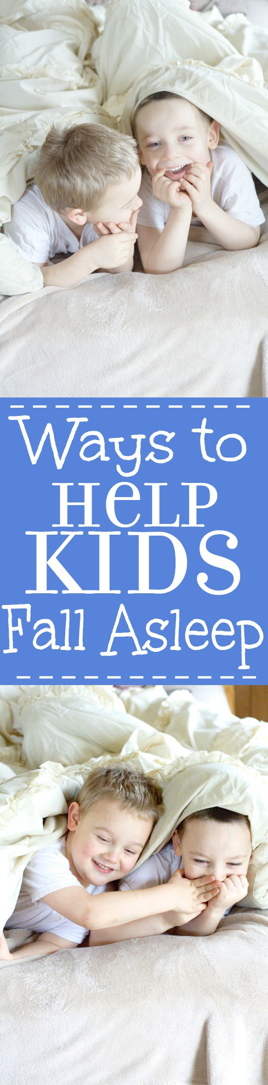 Ways To Help Kids Fall Asleep Easier At Night, And Go To Bed Without A