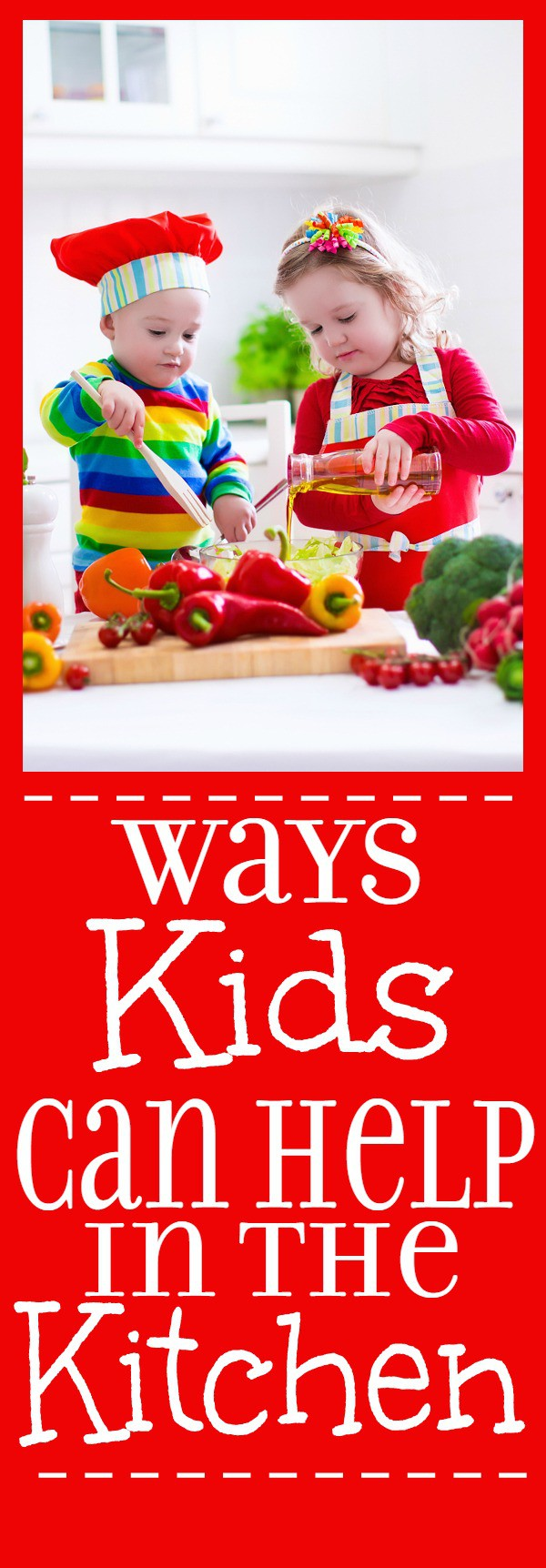 10 Tasks Kids can Help with in the Kitchen -Kids can help in the kitchen too! Get the kids involved, busy, and cooking with these 10 tasks kids can help with in the kitchen. | parenting
