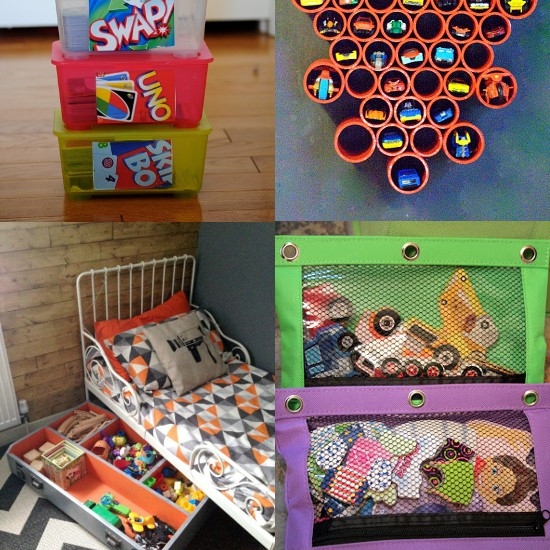 DIY Toy Organization Ideas