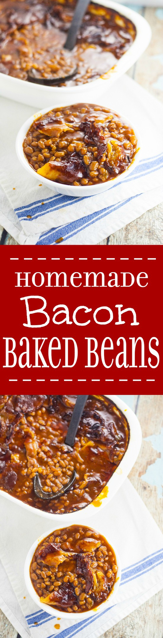 Homemade Bacon Baked Baked Beans Are Easier To Make Than You Think! Sweet  And Tangy