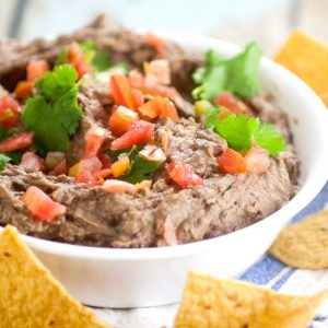 Creamy Black Bean Avocado Dip