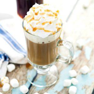 Homemade Caramel Marshmallow Coffee Creamer