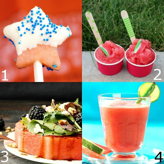 40 Refreshing Watermelon recipes perfect for Summer. Kick back this Summer and enjoy some juicy, fresh watermelon with these delicious and refreshing Watermelon Recipes. Check out these 40 recipes to love, eat, and use up your favorite Summer treat. Yum! Love watermelon!