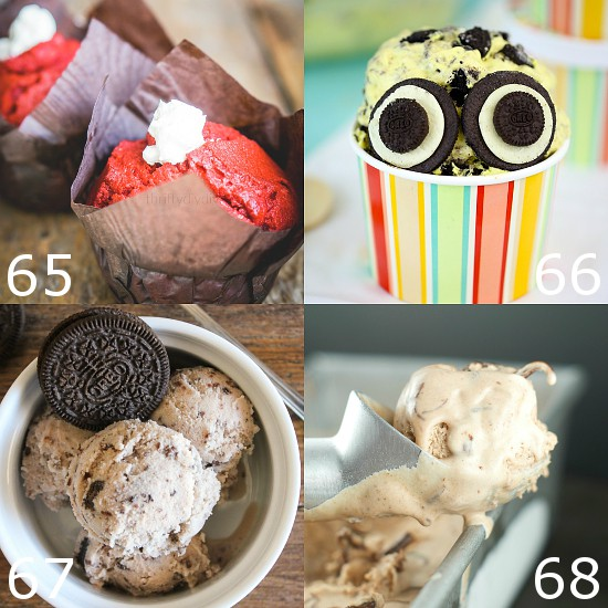 80 Homemade Ice Cream Recipes -Indulge your sweet tooth and beat the heat this Summer with 80 of the BEST Homemade Ice Cream recipes! From fruity or tangy, to chocolate and sweet, there's a little something for everyone here! You don't even need an ice cream maker for most of these! No churn ice cream is the way to go!