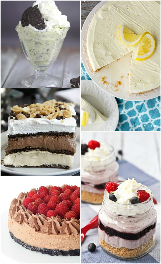 72 No Bake Dessert Recipes perfect for an easy Summer dessert or a quick and easy dessert recipe any time.Satisfy your sweet tooth without the oven with these 72 quick, easy, and scrumptious No Bake Dessert recipes that everyone will love. Yes! Dessert made easy!