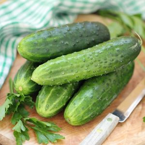 60 Recipes with Fresh Cucumbers -Crisp, cool, fresh cucumbers from the garden add a delightfully refreshing flavor to any dish. Use up your garden fresh cucumber harvest with these 60 delicious recipes with fresh cucumbers.