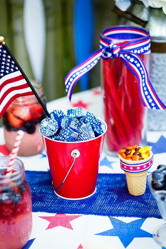 Olympics Party Ideas - Get ready to cheer Team USA on to go for the gold with these fun Olympics party ideas, including cute Olympics party food and patriotic party decorations.