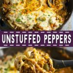 Get all the delicious comforting flavor you love in classic stuffed peppers with these equally yummy but twice as easy Unstuffed Peppers. Makes a full meal, all in one skillet!