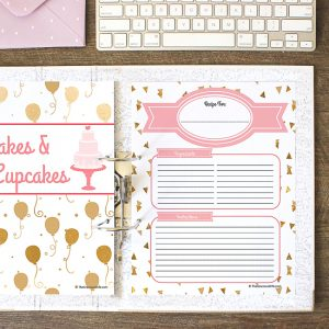 How to Make a Recipe Binder