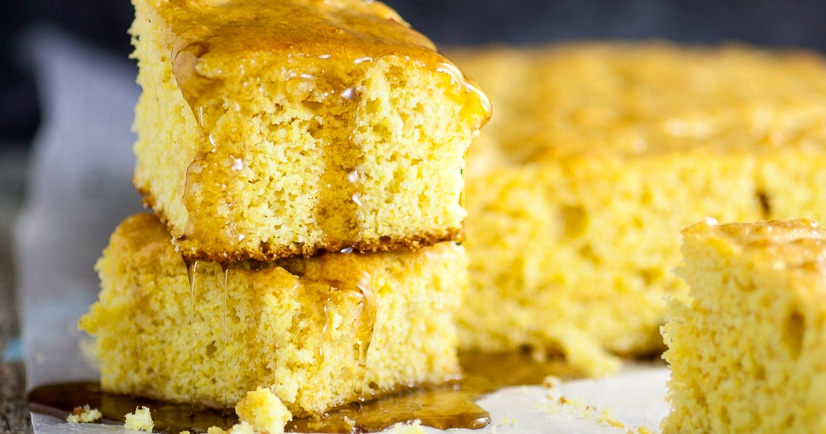 Maple Cornbread Recipe - A sweet, maple twist on a classic favorite ...