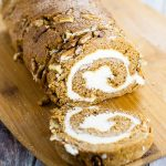 Classic Pumpkin Roll with Cream Cheese Filling