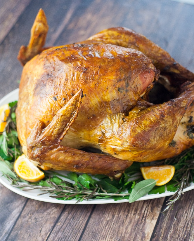 Butter Herb Roasted Turkey Recipe | Perfect Thanksgiving ...