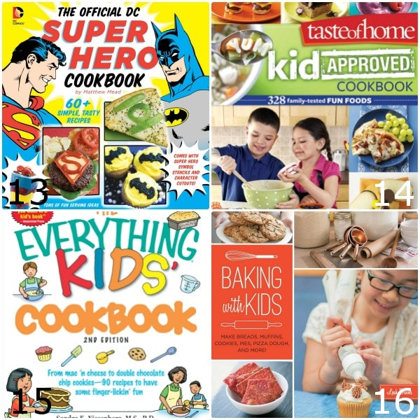 24 Best Cookbooks for Kids will make super cute gift ideas! -24 top Cookbooks for Kids toget your kids busy in the kitchen and spend quality time with them while teaching them a valuable life skill. Cooking with kids is a fun activity for the whole family to enjoy together!