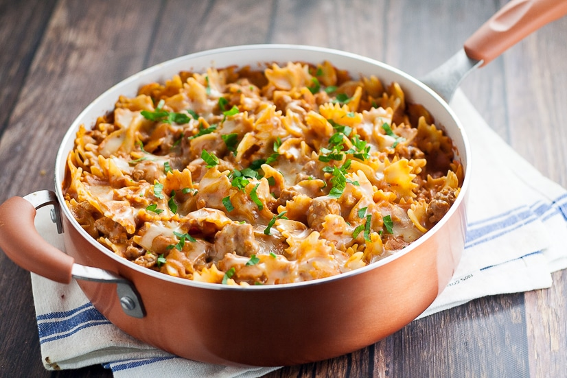 Easy Creamy Sausage Pasta Recipe | 30 Minute Meal