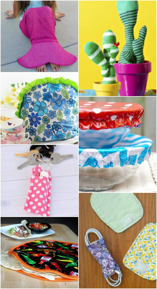 56 Quick and Easy Sewing Projects for Beginners - If you're new to sewing or just need a quick project to pass the time, try these 56 cute, fun, and EASY sewing projects that are perfect for beginners. Get started with these easy sewing tutorials and be done in no time. These are super cute!