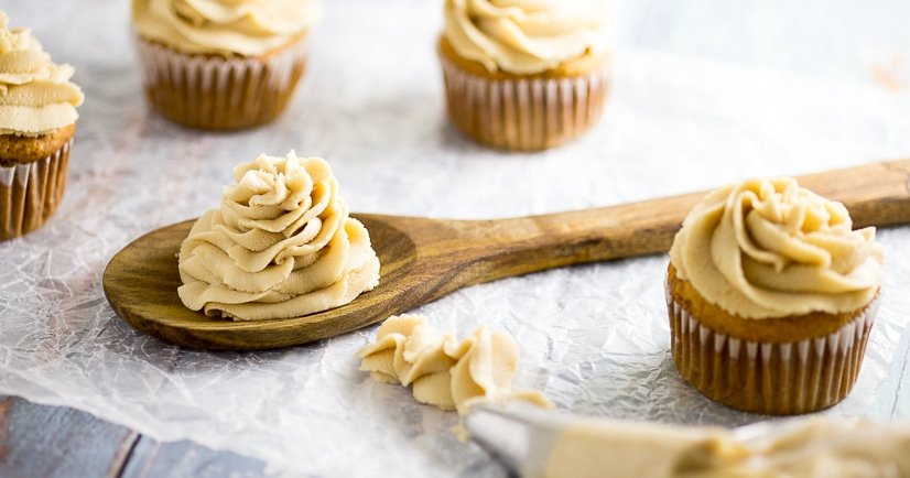 Homemade Caramel Frosting Recipe - Sticky and sweet homemade Caramel Frosting recipe is perfect for topping your favorite cupcakes and cakes. This gooey frosting will be an instant favorite!