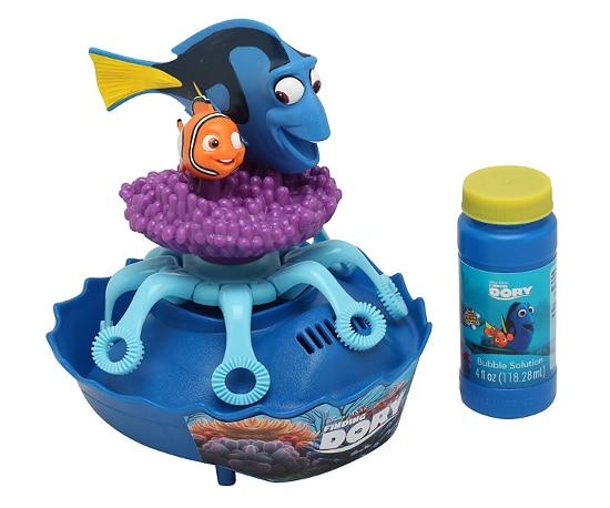 Finding Dory Bubble Machine - 15 Finding Dory Gift Ideas - Finding Dory Gift Guide with15 adorable and fun Finding Dory Gift Ideas that are perfect for the Finding Dory fan in your life. Perfect gift ideas for kids for Christmas and birthdays!