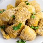 Make these Baked Catfish Nuggets as a healthy and easy baked version of a Southern favorite. Made with just 5 ingredients in 30 minutes for a super easy family dinner recipe. We also love that this recipe is gluten free and dairy free!