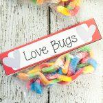 Gummy Worm Valentines Printables