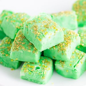 Mint White Chocolate Fudge