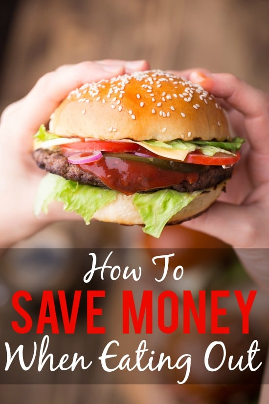 How to Save Money When Eating Out - You can still eat out when you're on a budget, especially if you use these 7 simple ways to save money when eating out for a delicious, stress-free meal on a budget.