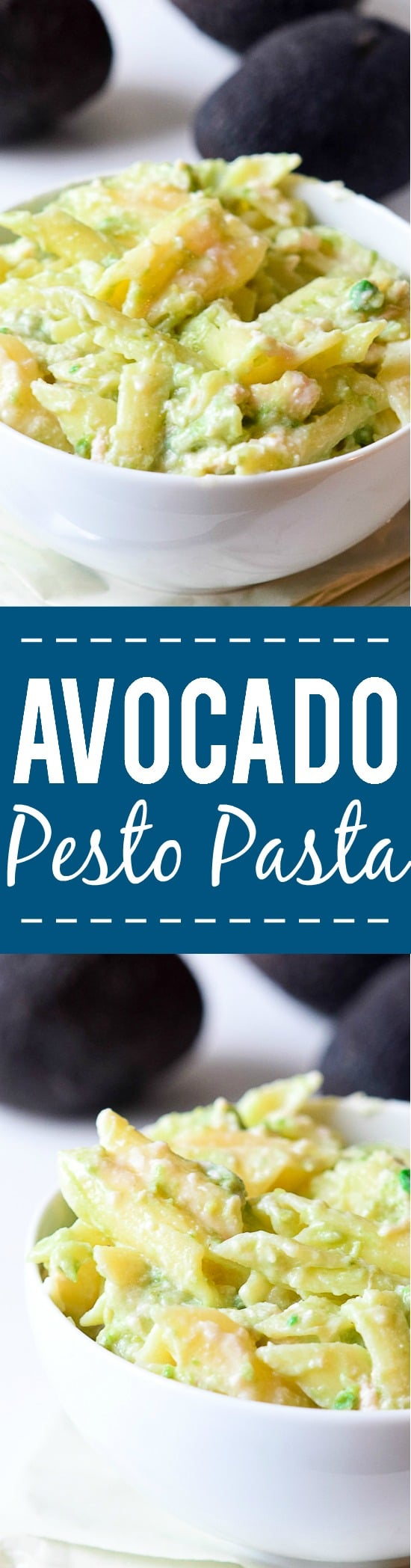 Avocado Pesto Pasta Recipe -Easy and fresh, this Avocado Pesto Pasta is perfect for warm weather, made with fresh basil, tangy lime, creamy avocado and a sprinkle of Parmesan in just 20 minutes!