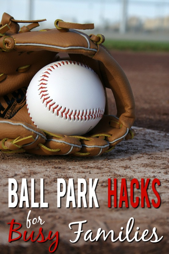10 Ball Park Hacks for Busy Families - Baseball season can make busy schedules a little crazier.  Use these 10 Ball Park Hacks for busy families to make it a little easier and less stressful for everyone! Parenting Tips