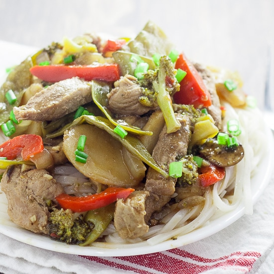 Ginger Pork Stir Fry