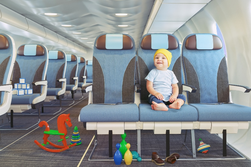 50 Tips for Traveling with Baby -Have more fun and make traveling with a baby a breeze with these 50 easy but brilliant tips for traveling with a baby. Have your best vacation yet! Parenting Tips