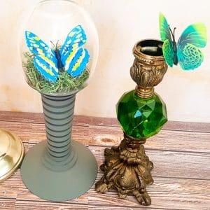 DIY Steampunk Butterfly Decor