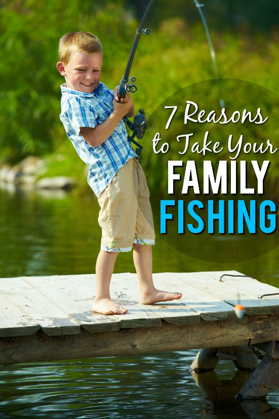 7 Reasons to Take Your Family Fishing -Whether you love fishing or not, it can be a great activity for your family to get outside, bond, and have some fun this year. Here are 7 Reasons to Take Your Family Fishingeven if you don't like the worms! Parenting Tips