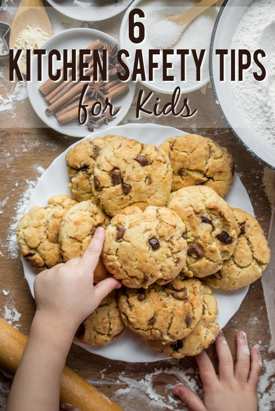 6 Kitchen Safety Rules for Kids -Getting kids involved in the kitchen is a valuable life skill, but it can be dangerous. Teach your kids to be useful and safe with these 6 basic kitchen safety tips for kids. Parenting tips