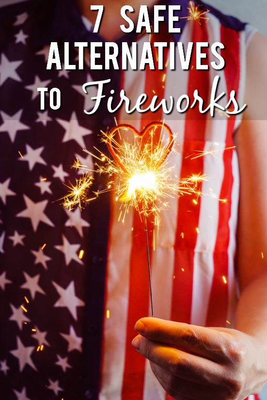 7 Safe Alternatives to Fireworks -Love fireworks but worried about safety? Have some safe celebratory fun this Summer with these 7 safe alternatives to fireworks. Parenting Tips   Summer