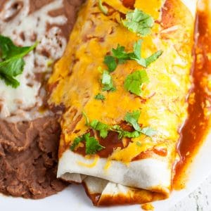 Rice and Black Bean Burritos