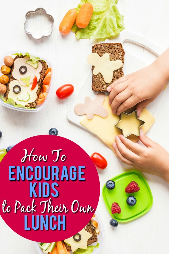 How to Encourage Kids to Pack Their Own Lunches - Packing school lunches can be a hassle. Make sure your kids love their lunches and take a load off your own shoulders with these 7 Ways to Encourage Kids to Pack Their Own Lunches. Back to school parenting tips