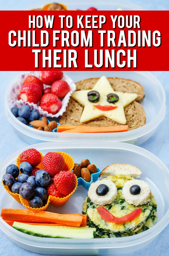 How to Keep Your Child from Trading Their Lunch Away -Make healthy, delicious, and fun school lunches for your kids that they'll actually want to eat with these 6 Tips to Keep Your Child from Trading Their Lunch Away. Parenting tips