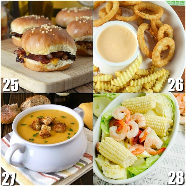 72 Recipes made with Beer -Beer turns an average recipe into cozy comfort food and can turn any food into game day food. Check out these 72 recipes made with beer for a comfy mouthwatering treat. Omg. These look amazing. I love beer batter.