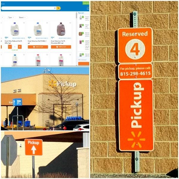 Walmart Online Grocery Pickup photos