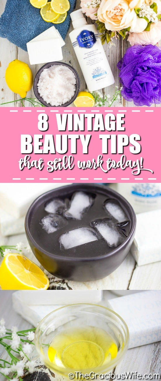 Although you might swear by YouTube makeup tutorials that use only the latest, there are so manyvintagemakeup gems out there that can deliver the same results – if not better!With their glowing skin, tumbling curls and perfect pouts, vintage beauties like Elizabeth Taylor, Marilyn Monroe, and Audrey Hepburn are still the envy of women today! Here are 8 vintage beauty tips that still work today!