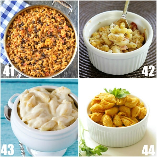 68 Mac and Cheese Recipes -68 Mac and Cheese Recipes that everyone will love! Gooey, cheesy, and delicious these unique mac and cheese recipes are guaranteed hits! So many homemade macaroni and cheese recipes! Baked, crockpot, ctovetop, classic, easy, creamy, southern, and so much more! OMG. I love macaroni and cheese!